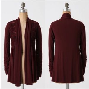 Anthropologie Bailey 44 In-a-Tizzy open Cardigan